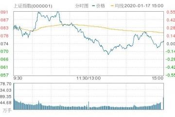A股收盘沪指涨0.05%人气股星期六尾盘大幅跳水