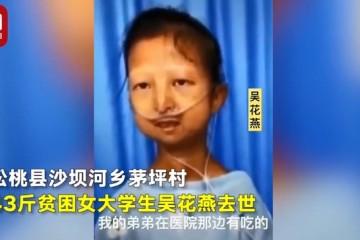 民政部回应43斤女大学生募捐质疑约谈中华儿慈会