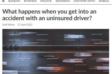 南非保险公司呼吁立法让所有车主必须购买第三者责任险