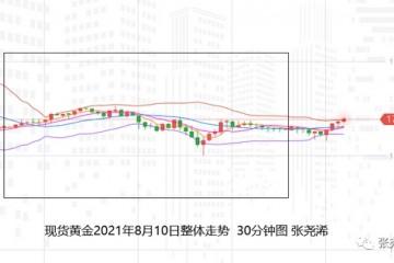 张尧浠黄金受压鹰言愈发减弱美CPI来袭多头意有反弹